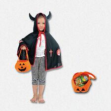 Halloween Candy Bag Children Smile Pumpkin Trick or Treat Kid Handhold Bag Party