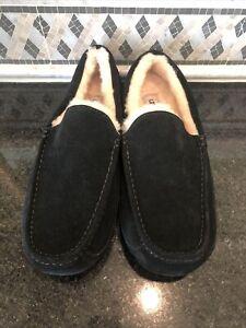 Men's UGG Black Ascot Slippers- size 13- #1101110