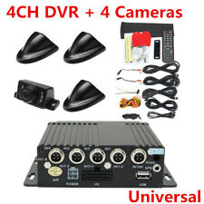 27Pcs 4CH Panoramic Vehicle Car Mobile DVR Security Video Recorder+4 CCD Cameras