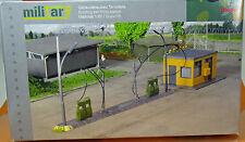 Herpa 745864 Military edificio Stazione di Servizio Kit