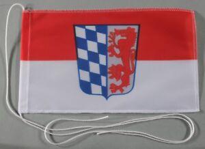 Niederbayern Tischflagge 15x25 cm Profi Qualität Tischfahne Auto Bootsflagge
