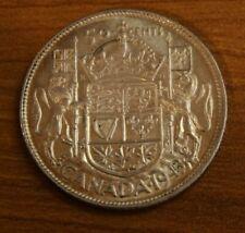 Canada 50 Cents Silver 1943