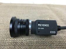 KEYENCE CV-030 MACHINE VISION CCD CAMERA