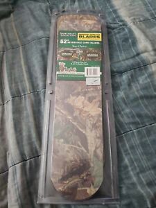 """Marshall's Sportsman Collection 52"""" Universal Reversible Camo Blades 5 Piece Set"""