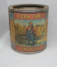 Vintage Corn Cake Smoking Tobacco tin
