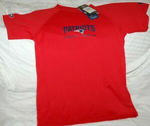 New England Patriots Under Armour Heat Gear Loose combine shirt YOUTH medium NEW