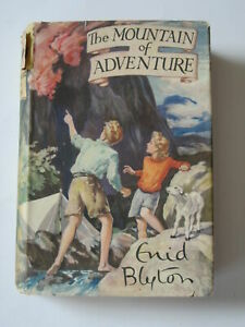 """""""THE MOUNTAIN OF ADVENTURE - by Enid Blyton, ---Hardback with d/j"""