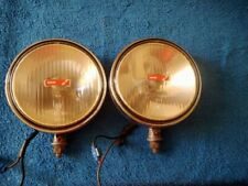 vintage lucas chrome  driving lights driving lamp