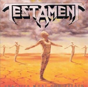 TESTAMENT - PRACTICE WHAT YOU PREACH NEW CD
