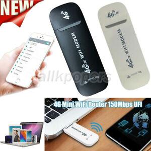 Wireless Car WIFI 4G LTE USB Dongle Unlocked Stick Mobile SIM Card Plug Internet