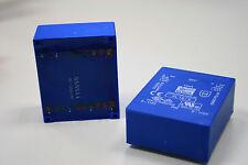 UI 39/13,5 BLOCK TRAFO Flachtransformator FL 18/9 18 V, 2 x 9 V, 2 x 1000 mA NEU