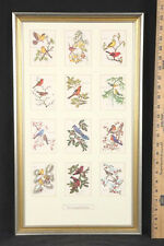 Rare Signed & Personalized Anne Worsham Richardson Framed Lithograph Assemblage