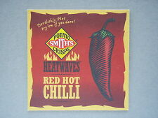 POTATO SMITH'S CRISPS HEATWAVES RED HOT CHILLI PEPPER STEAK - COASTER