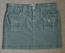 Cute Old Navy Green Corduroy Mini Skirt (Juniors, Size 6)