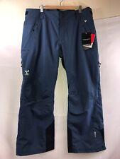 OBERMYER Mens Blue Rocco Primaloft Hydroblock Snowboard Ski Pants Size 2XL