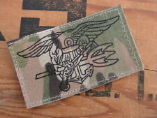 "SNAKE PATCH "" NAVY SEAL "" US NAVY - brevet MULTICAM army SPECIAL FORCES palme"
