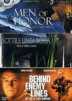 Cofanetto Military: Men of Honor, Sottile Linea Rossa, Behind - DVD D040180
