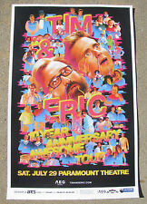 TIM & ERIC 10 Year Awesome Tour 2017 Paramount - Denver 11x17 Poster - Gig Flyer