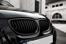 schwarze Nieren BMW 5er E61 Touring Frontgrill  M5 Kühlergrill Salberk 6001