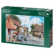Falcon De Luxe Country Lane by Trevor Mitchell 500 Piece Nostalgic Jigsaw 11026