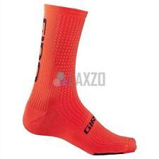Cycling Socks Giro Hrc Team 2017 Vermillion/Black L Thermal Shin Protection
