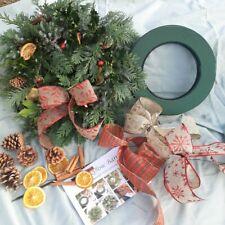 Fresh Wreath Making Craft Kit