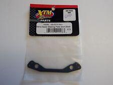 XTM Racing Parts- Servo Saver Steering Plate 3mm Black - Model # 149285 -Box 2