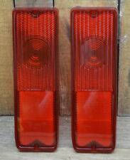 PAIR 1967-72 CHEVY GMC TRUCK TAIL LIGHT LENS FLEETSIDE VTG PICKUP VAN LENSES 2