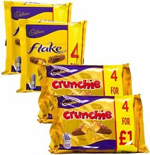 Cadbury Variety Selection | 8 Bars of Cadbury Flake & 8 Bars of Cadbury Crunchie