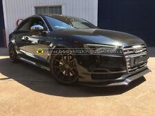 Audi S3 8V Carbon Fiber front lip-wing spoiler grill bar bodykit sline rs3 skirt