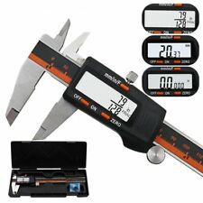 New Digital Electronic Gauge Stainless Steel 150mm Vernier Caliper With Safe Box