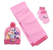 NWT My Little Pony Twilight Sparkle Rainbow Dash Hat, Scarf& Gloves Girls 4-16