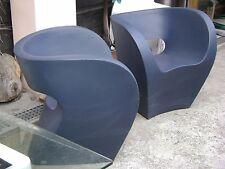 Moroso Italy two little albert armchair by Ron Arad design year 2000 avio colour