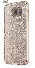 Samsung Galaxy S6 étui housse de protection fleurs doré MELICONI 40617000049ba