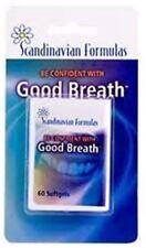 Good Breath by Scandinavian Formulas Softgels 60 ea (Pack of 2)