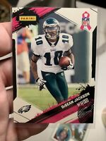 2009 DeSean Jackson Rare Pink Rookie A Crucial Catch Breast Cancer Awareness