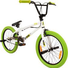 """20 Zoll BMX Bike Fahrrad Freestyle Kinderfahrrad Kind Rad deTOX 20"""" weiß/grün"""