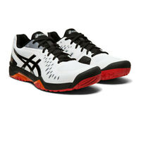 Asics Mens Gel-Challenger 12 Tennis Shoes - Black White Sports Breathable