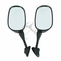 Black Rear view Side Mirrors For Honda CBR600 F4 99-00 F4I 01-02 CBR919 CBR900