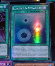 Yu-Gi-Oh SUPER RARE HOLO CARD CARTE DRL2-FR044 LUMIERE D'AQUARIUM VF NEUF