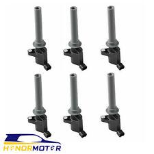 Set(6) Ignition Coils For Mazda Tribute Mercury Ford Escape Taurus 18LZ12029AB