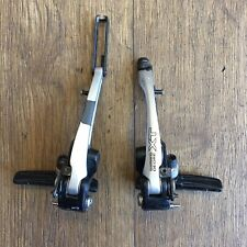 coppia leve freno v-brake deore xt bl-t780-b-l con cavi e guaine colore nero EBL