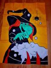 Halloween Witch Garden Flag