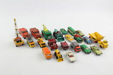 22 x Vintage LESNEY MATCHBOX SERIES/KING SIZE Diecast Models Inc. Tractor Shovel