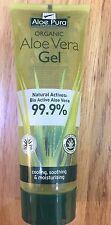 Aloés PURA peau traitement Aloe Vera Organique Gel - 100ml