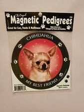 Pet Gifts USA Magnetic Pedigrees Dog Magnet - Chihuahua My Best Friend