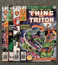 Marvel Two-In-One 62, 63, 64, 65!