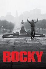 Rocky .sylvester Stallone Rétro 1976 Film Promo Affiche 3 Divers Tailles