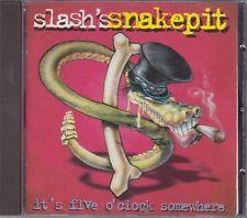 SLASH'S SNAKEPIT - it's five o'clock somewhere CD japan edition