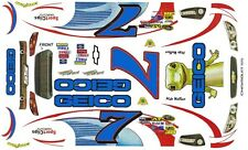 #7 Mike Wallace GEICO 2013 Chevrolet SS 1/25th - 1/24th Scale Waterslide Decals